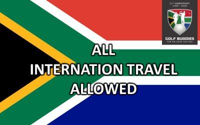 BREAKING NEWS – All International Travel Allowed